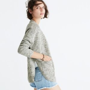 Madewell Skipper B&W cardigan Small
